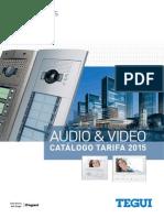 201502 Legrand Tegui Catálogo Videoporteros y Porteros 2015