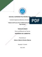 Tesis de Grado - Edison Zhindon Macías (Diseño Del Proceso Para La Helaboración de Helados de Fruta)