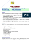 Candidature Master Specialise CAO 2014-2015