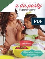 Brochure Tupperware Mi-février 2015