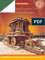 Krishnadevaraya Coronation