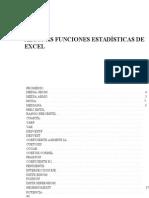 Funciones Estadisticas de Excel