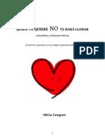 Congost, Silvia - Quien Te Quiere No Te Hará Llorar