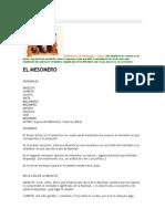 Obra Teatro El Mesonero