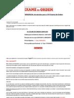 Original Cronograma Especial de Estudos Para o XVI Exame Da OAB