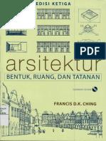 Arsitektur Bentuk, Ruang dan Tatanan Edisi 3.pdf