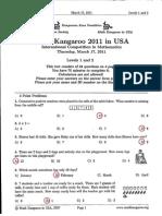 MK2011 Levels12 Answers