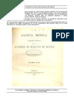 Gaceta Medica 1881