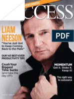 Success Magazine (Liam Neeson)