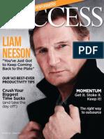 Success Magazine (Liam Neeson)