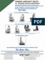 Fixed Stationary Aircraft Seats