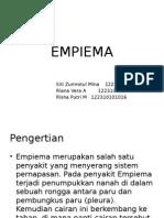 EMPIEMA