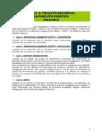 Règlement pour un appel à projet en région Rhone-Alpes pour construire des bâtiments positifs