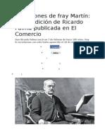 Los Ratones de Fray Martín