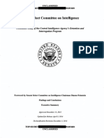 Senate Intelligence Committee Report on CIA's Detention and Interrogation Program, Findings and Conclusions