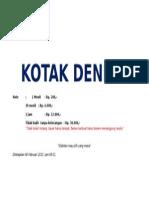 KOTAK DENDA