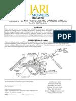 Jari Monarch Manual 2015