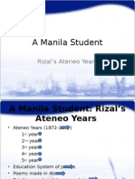 Rizal in Ateneo