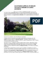Casa Cura Le Betulle Diciassette Milioni Di Italiani Soffrono Di Disturbi Mentali