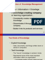 Knowledge Management Ppt