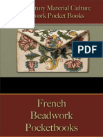 Pocket Books, Purses, Wallets - Beadwork Pocket Books