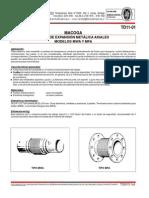 TD11-01 Junta de Expansión MWA y MFA - (Macoga)