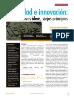 Creatividad e Innovación Nuevas Ideas Viejos Principios-Original