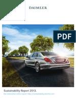 2458889 Daimler Sustainability Report 2013