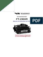 Manual Yaesu FT-2900R PT