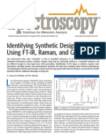 Identifying Synthetic Designer Drugs Using FT-IR, Raman, And GC–IR