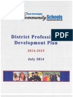 district professional development plan