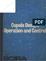 Cupola Design Operation and Control