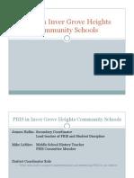 pbis presentation to community education