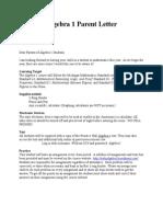 2014 parent letter