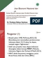Presentation of IBFI-Muhammadiyah Round Table 2014