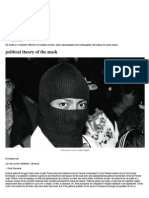 Political Theory of the Mask