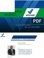 pandu vestige products and business plan ppt