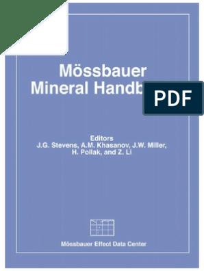 Mineral Handbook | Minerals | Materials on