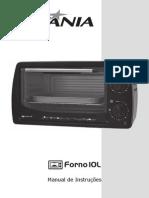 Folheto de Instruções Forno Elétrico 10L