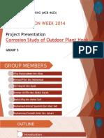 Corrosion Project Presentation Slides
