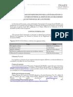 Convocatoria 01-2015 y Bases