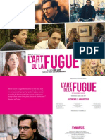 L'art de la fugue pressbook