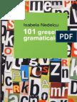 101 Greseli Gramaticale Isabela Nedelcu