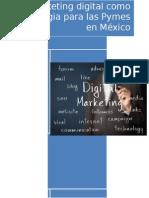 Marketin Digital Como Impulsor de PyMes