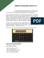 Curso de Matemática Financeira Com a Hp12c