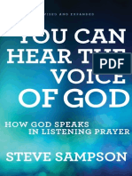 You Can Hear the Voice of God