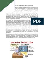 Las Innovaciones de Los Paradigmas de La Educación