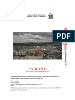 Estatuto UNDAC