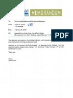 JLAC Audit Memo Feb 12 2015
