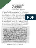 Hollande, Van Koningsveld, Arabic Manuscript of the Tunisian Teacher of Clenardus in Leiden